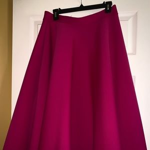 Fashion to Figure Fit Flare Scuba Skirt